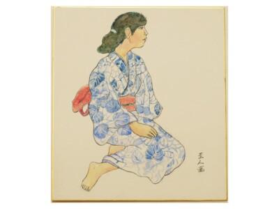 松田 圭人「ゆかたの女」